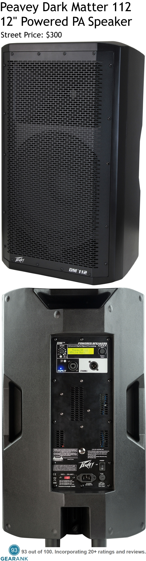 Pin by Gearank on PA Speakers | Powered pa speakers, Pa
