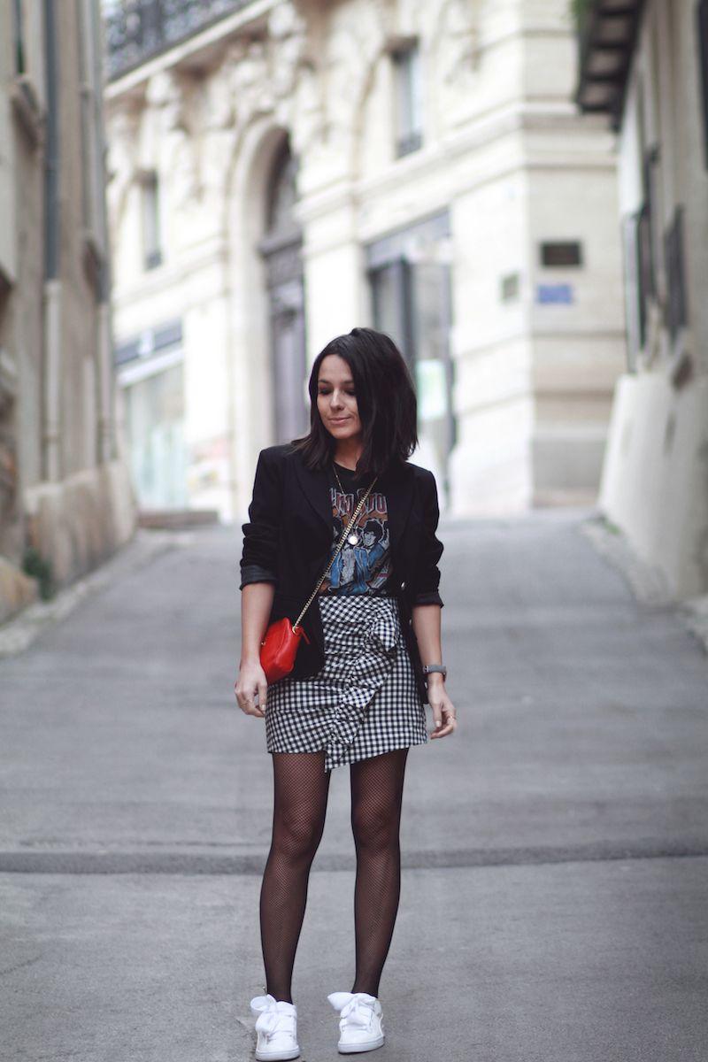 Montpellier Petit Vichy Idée Look Volant Le Jupe Mode Blog Monde m8wN0vnO