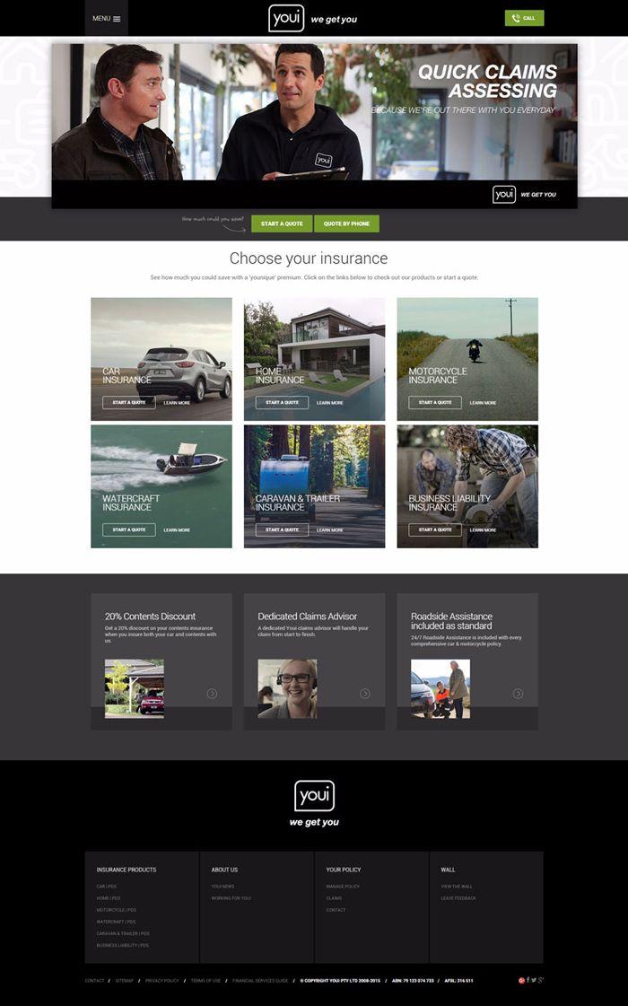 26 Amazing Insurance Websites Inspiration Inspiration Web