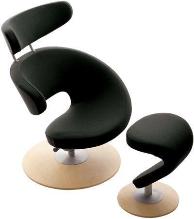 Elegant Peel With Footrest By Varier Furniture