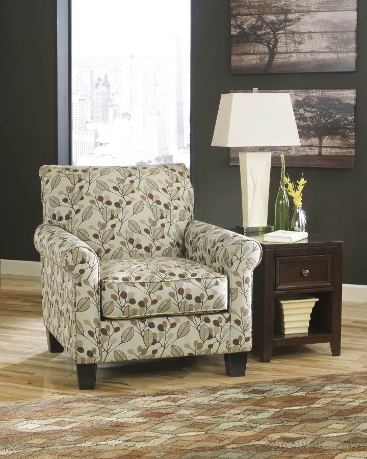Danely Dusk Wood Fabric Accent Chair This Is My New Chair For The
