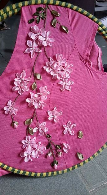 ribbon flowers #ribbonflower