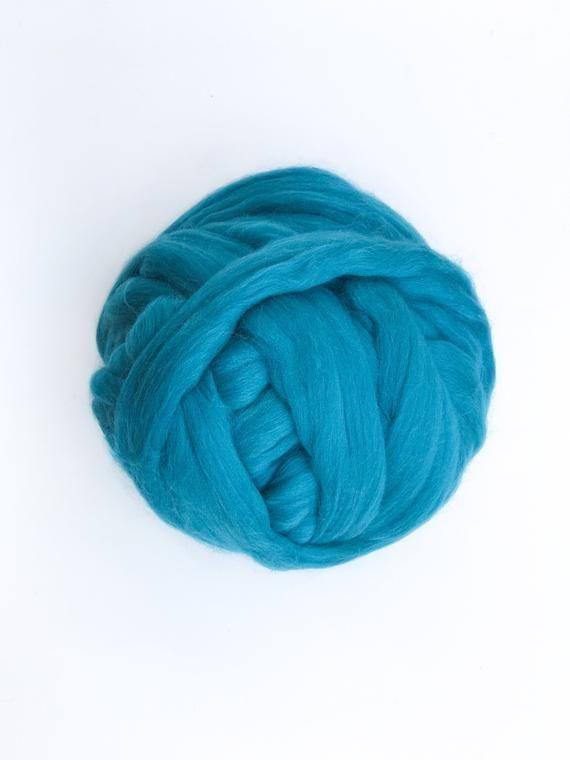 Photo of Chunky Yarn for Arm Knitting 100% Merino Wool Chunky knit Giant Yarn Thick Yarn …