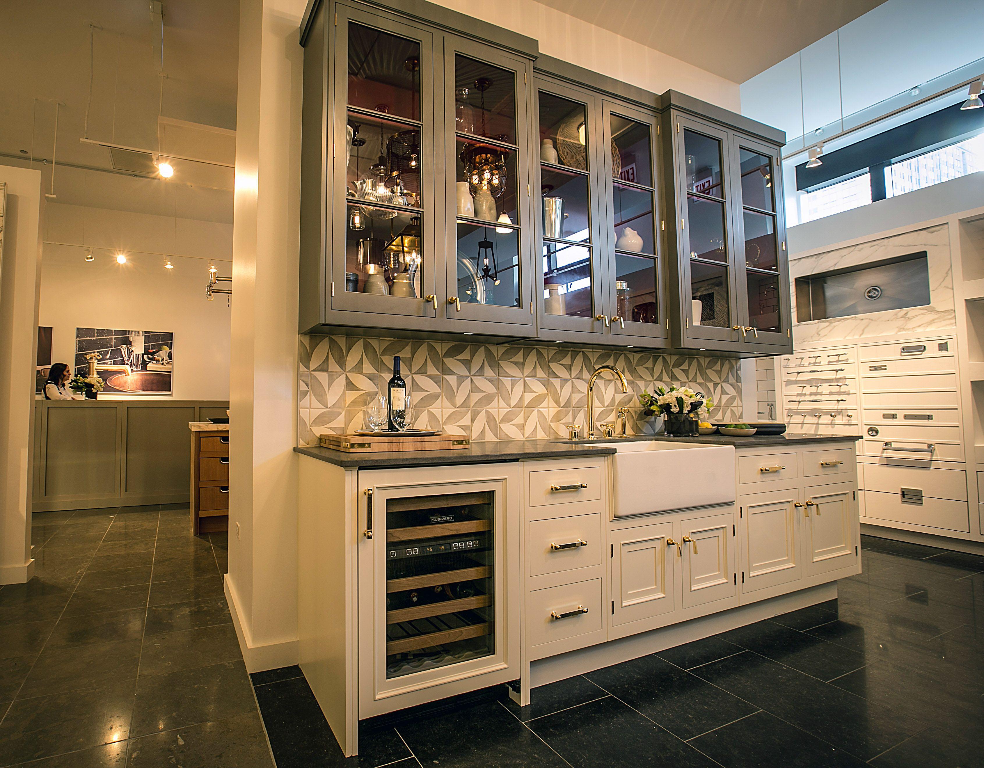 Waterworks Kitchen In Chicago Showroom Kitchen Design Showrooms