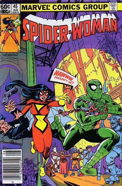 Spider-Woman # 45 by Steve Leialoha