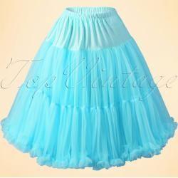 50s Lola Lifeforms Petticoat in Blue #tüllstoff