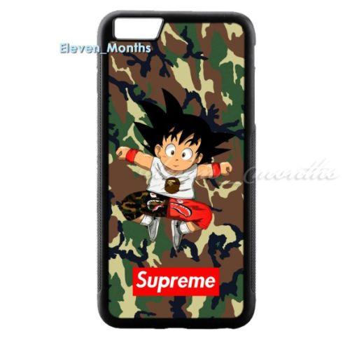 coque iphone 6 supreme goku
