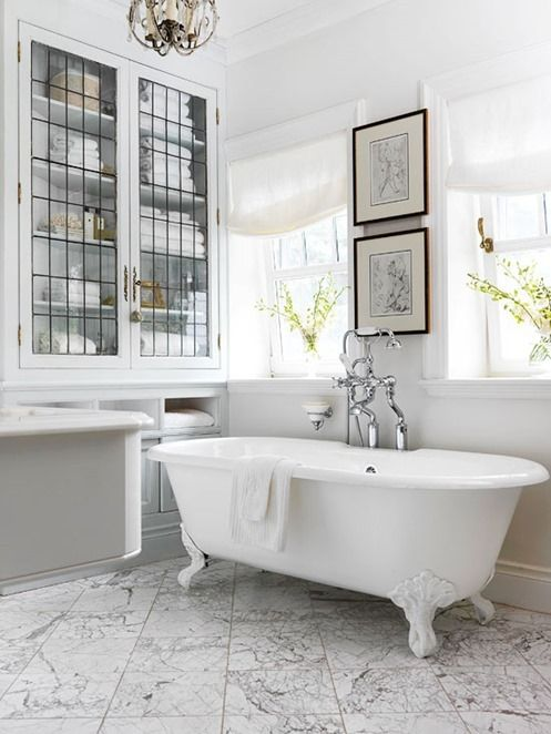 Instead Of Slab On The Floors Or Walls Look For Large Scale Marble Tiles That Will Give Same But Broken Up Into Smaller Sections
