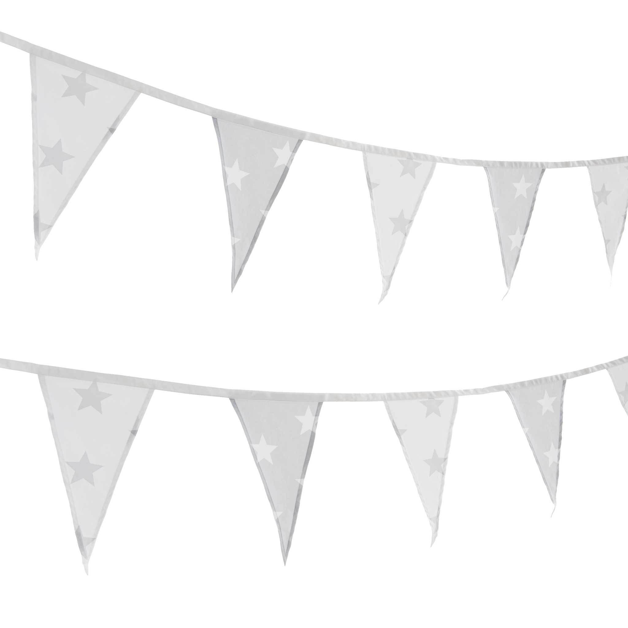Grey Amp White Star And White Amp Grey Star Bunting In 2019