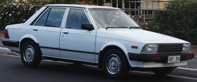 Ford Laser First Generation Rear Serdang Ford Laser