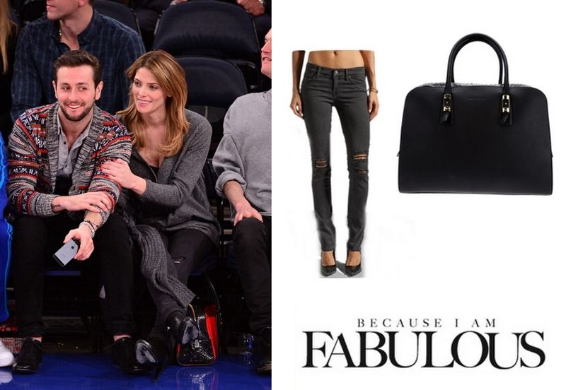fc5403bc2087 Shop Celebrity Closet  Ashley Greene Level 99 Lily Skinny Straight Jeans   amp  Salvatore Ferragamo