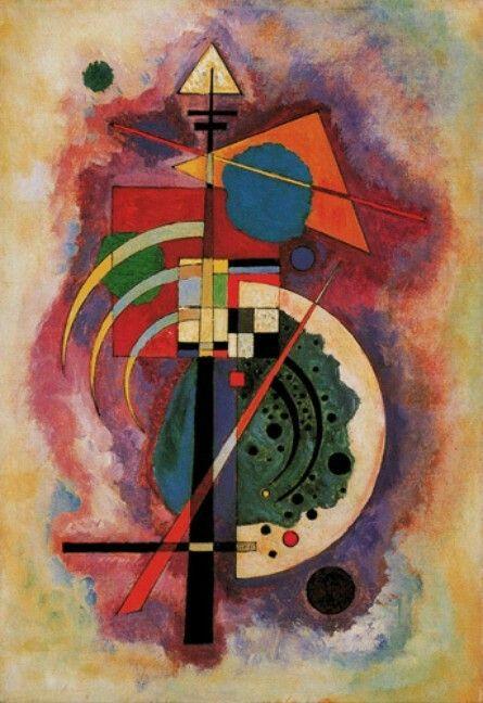 Wassily Kandinsky,Hommage a Grohmann, 1926
