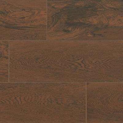 Glenwood Cherry 7 In X 20 In Ceramic Floor And Wall Tile