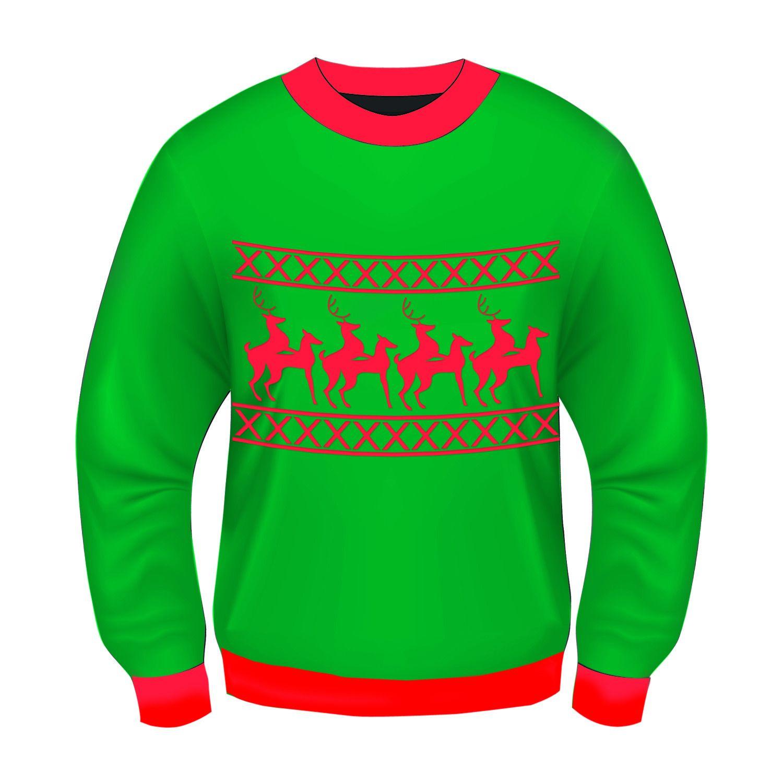 Forum Novelties FRM69538681AN00 Ugly Christmas Humping