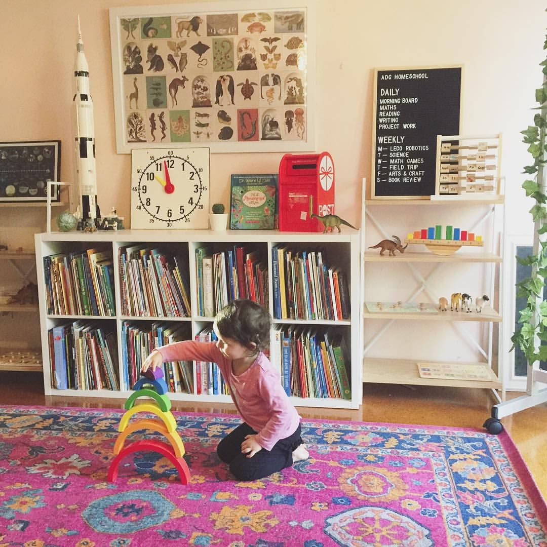 Minimalist Homeschool Room: We've Had A Few Rough Days Where I Feel Burnt Out And