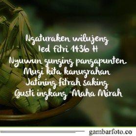 Kata Ucapan Selamat Idul Fitri Bahasa Jawa Bahasa Permainan