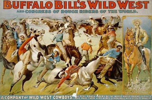 Photos: On this day – May 9, 1887 – Buffalo Bill's Wild West Show Opens