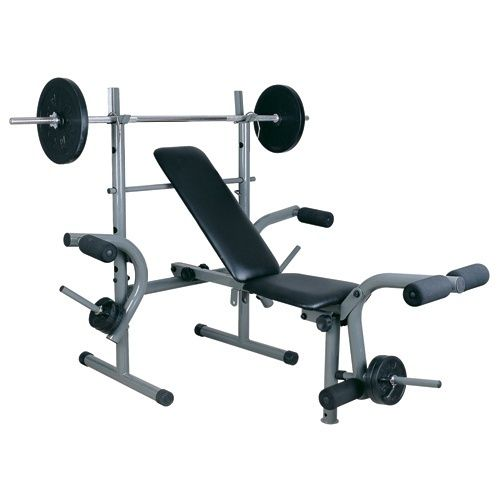 Weight Bench With Butterfly 30kg Weight Plates Weight Benches