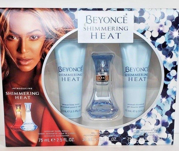 Beyonce Shimmering Heat Gift Set Eau De Parfum Sensual Body Lotion