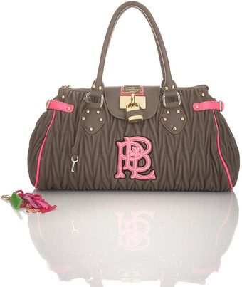 Ruched Padlock Bag By Pauls Boutique