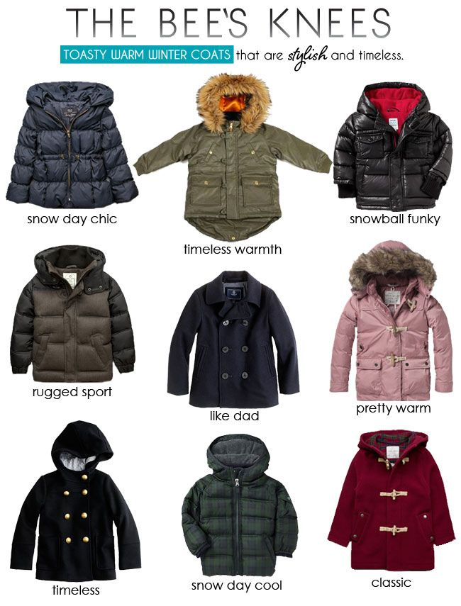 The Bee's Knees | Kids Winter Coats | Khloe's winter outfits ...