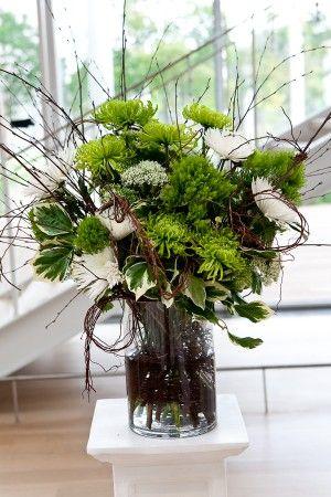 real weddings laura mark - Branch Flower Arrangements