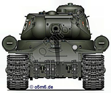 Engines of the Red Army in WW2 - JS-2
