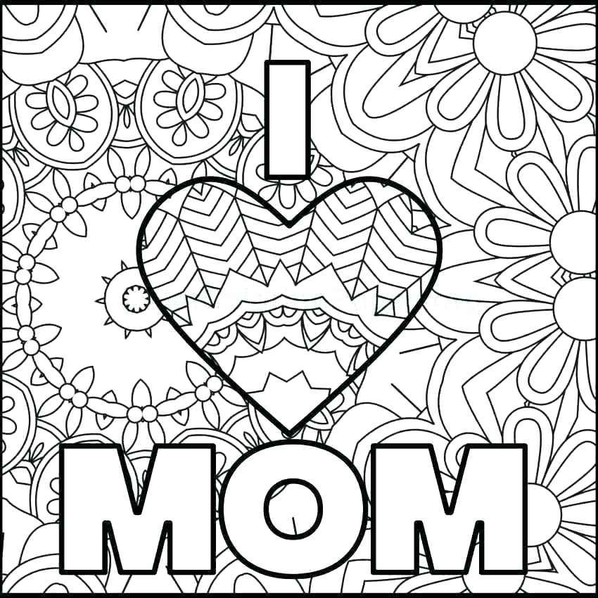 Cool Mother's Day Coloring Pages Mothers day coloring