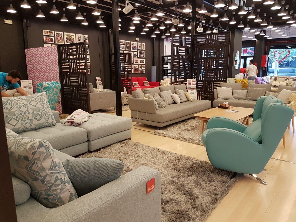 Sofa Madrid Tienda Brown Chenille Fabric Sectional Couch Renovación De Sofás Famaliving Las Rozas