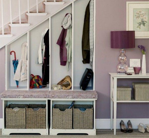 muebles de recibidor | Hall tree benches/Percheros | Pinterest ...