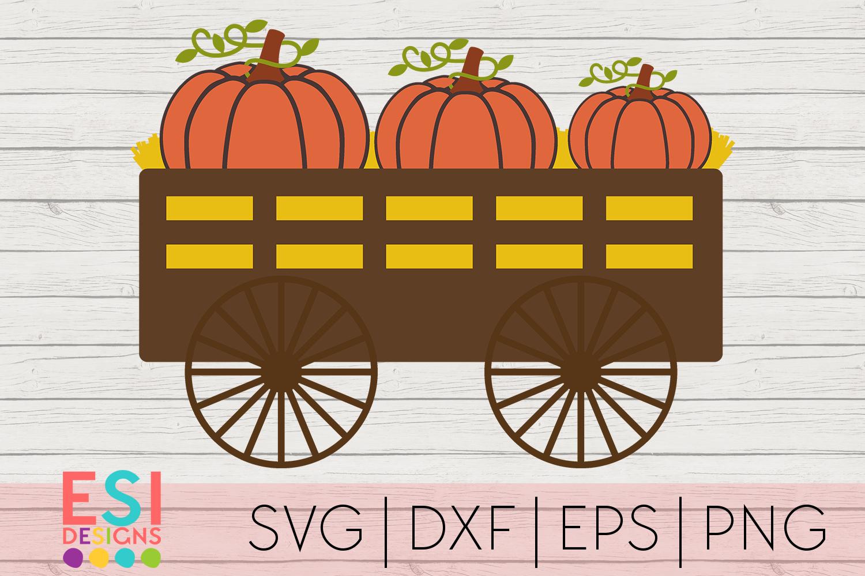 Download Pumpkin Wagon SVG Fall SVG Autumn SVGSVG DXF