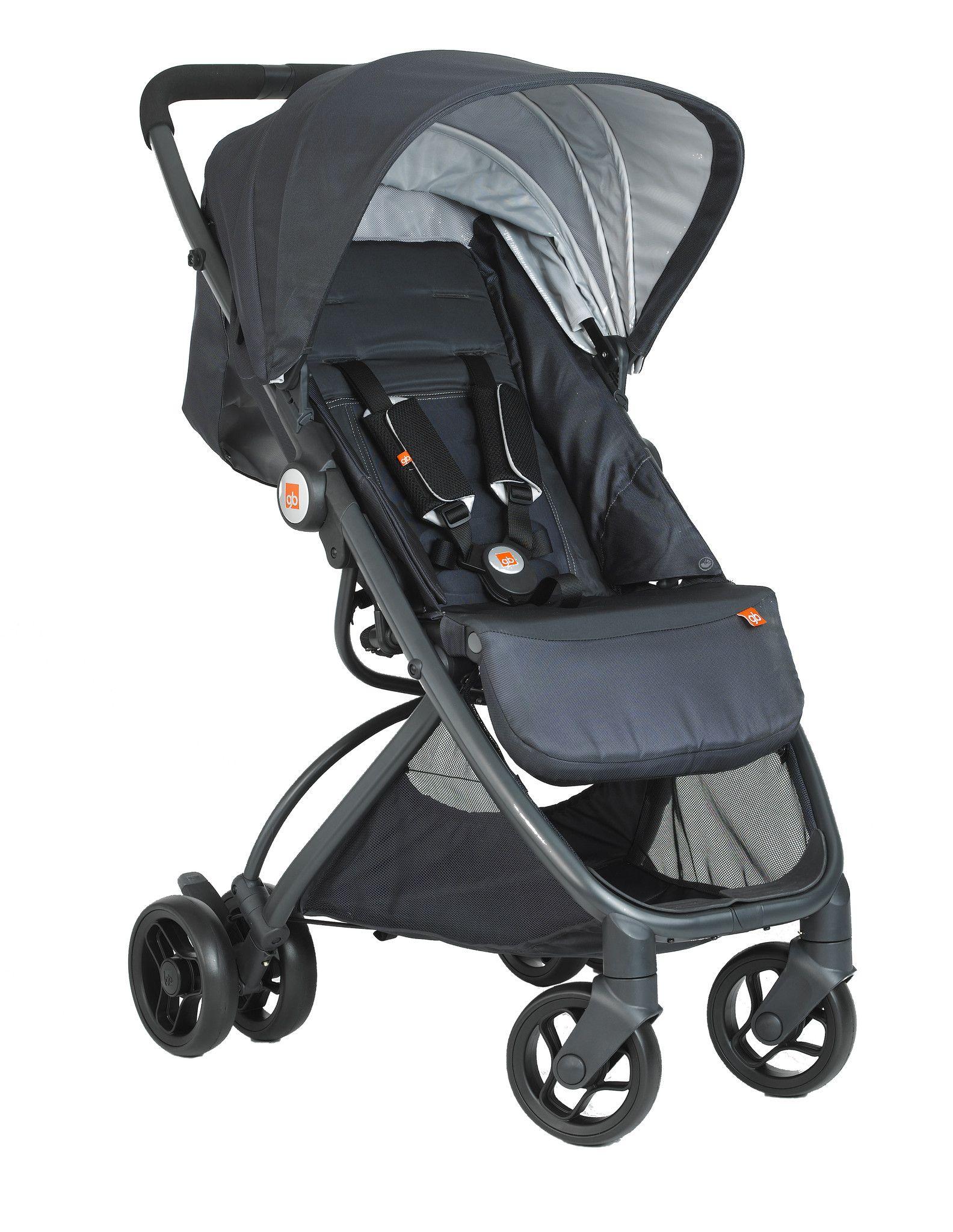 GB Ellum Stroller Sterling Stroller, Baby strollers, Ellum