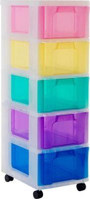 Nafenai 5 Drawer Dresser Chest Of Drawer Plastic Small Storage Dresser Cabinet With Lock Plastic Cabinets Plastic Storage Drawers Closet Organizer With Drawers