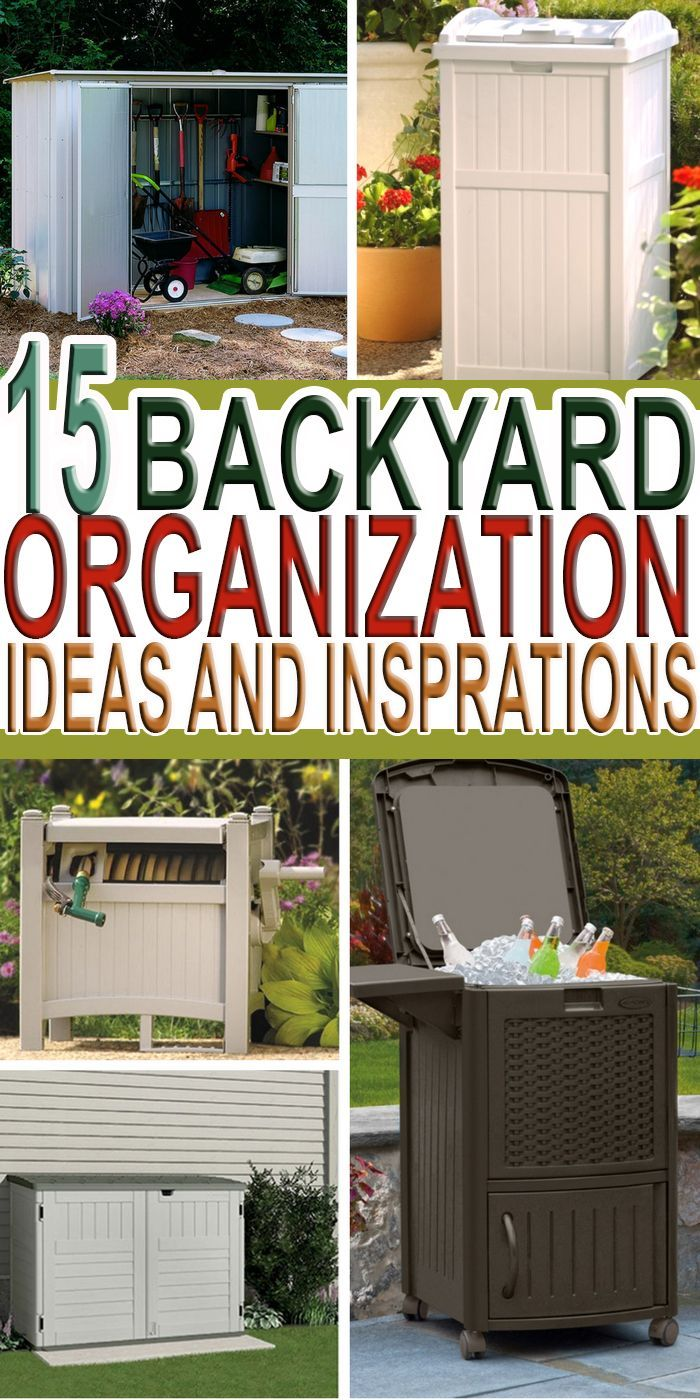 This spring let's look at yard organization ideas to help take care on storage organization, barn organization, sports organization, playroom organization, business organization, home organization, carport organization, office organization, garage organization, church organization, pantry organization,
