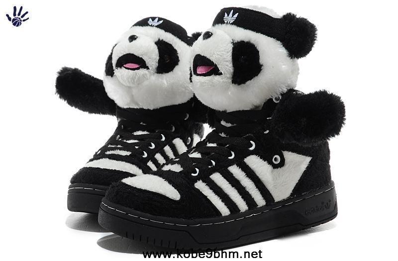 quality design e7f30 7dd69 New Adidas X Jeremy Scott Panda Shoes