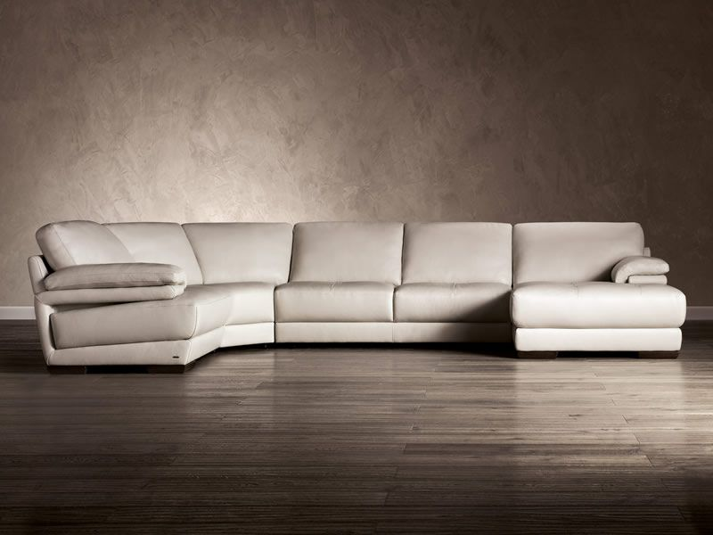 Selecting a Natuzzi Leather Sectional : natuzzi black leather sectional - Sectionals, Sofas & Couches