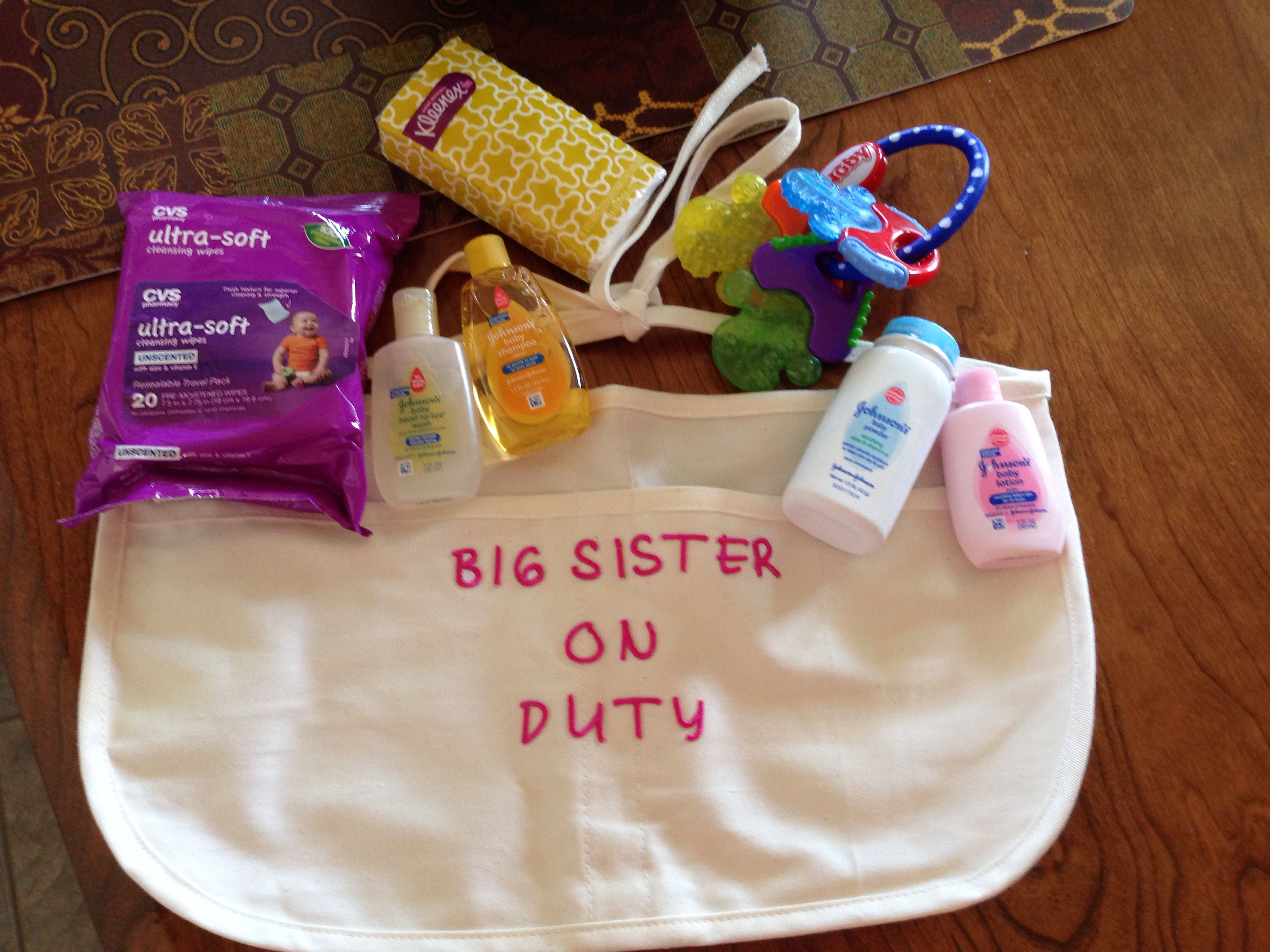 Baby Shower gift for girl Matching Sibling set New baby gift Hospital coming home set N31218 New mom gift Big SisterLittle Sister