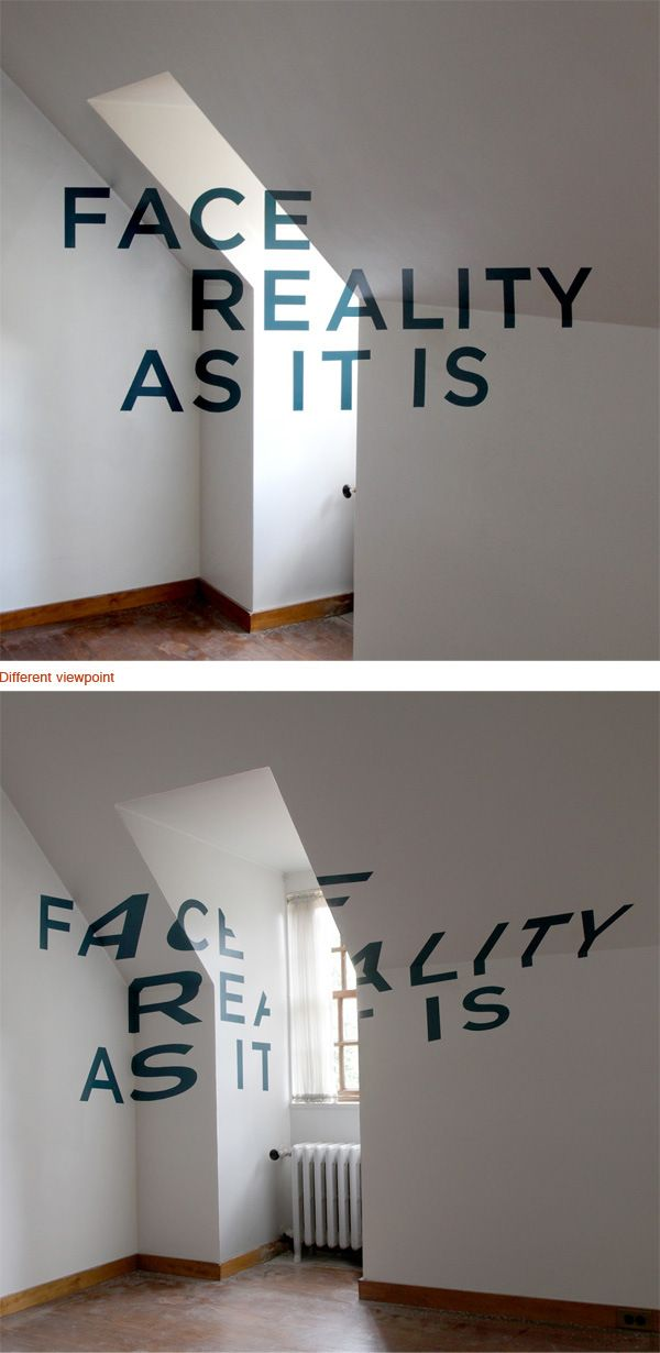20 awesome optical illusions using typography awesome