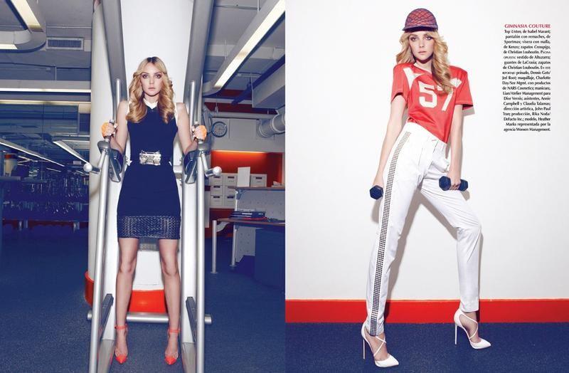 Sport Deluxe: Existe! (Vogue Latino America)