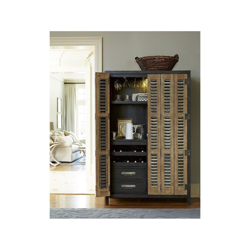 Libations locker entertaining furniture lockers cabinet