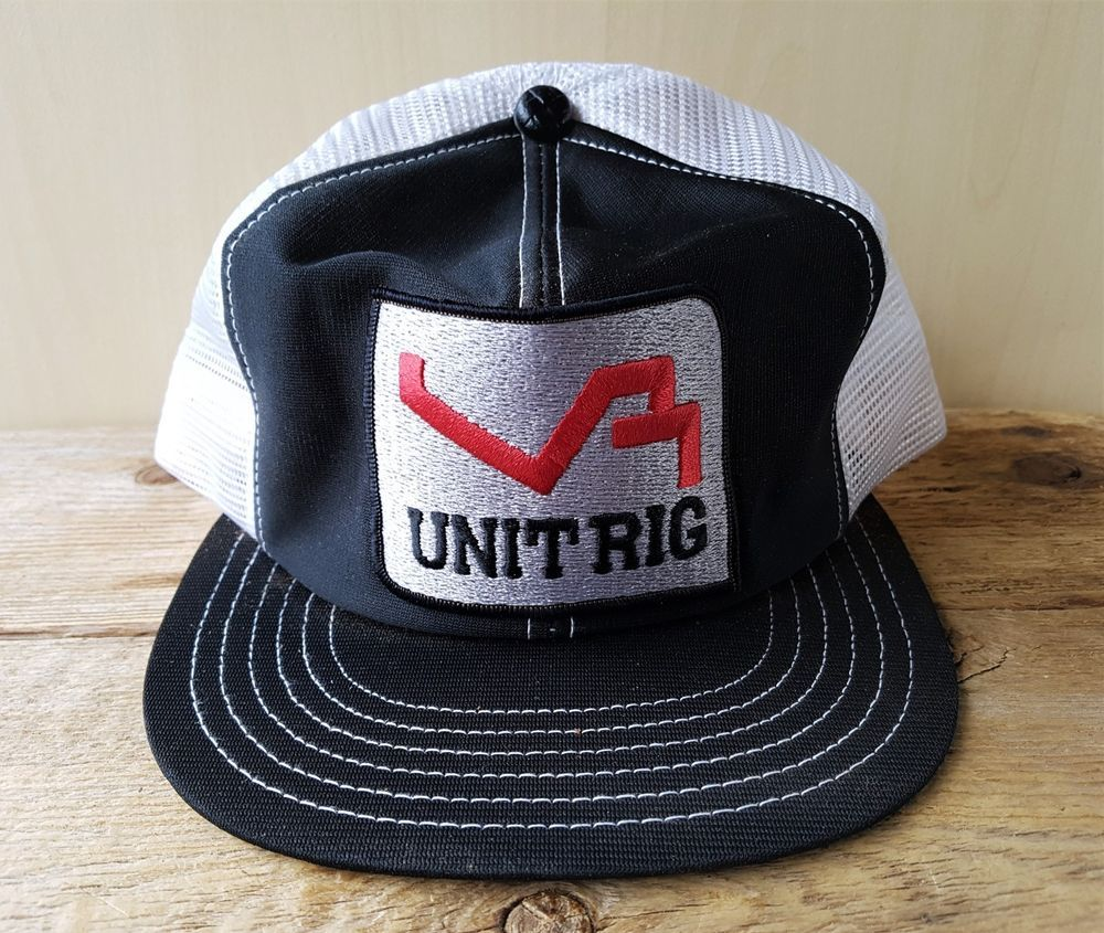 Details about VINTAGE 80S MIAMI VICE TRUCKER MESH BASEBALL