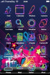 Download free Pink Stars Abstract IPhone Theme Mobile Theme Apple