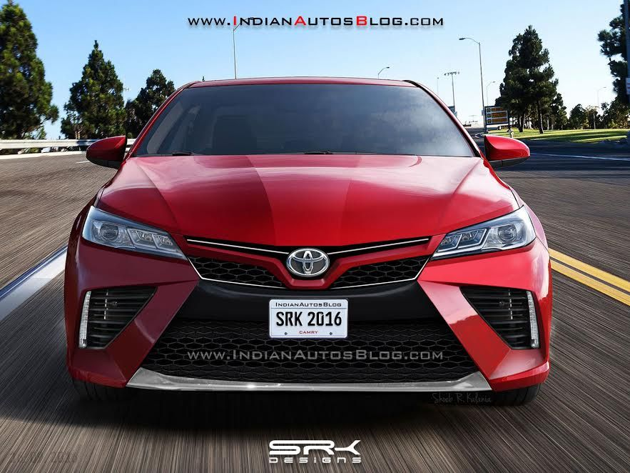 Recap 2018 Toyota Camry Rendered Based On The Alleged Leak