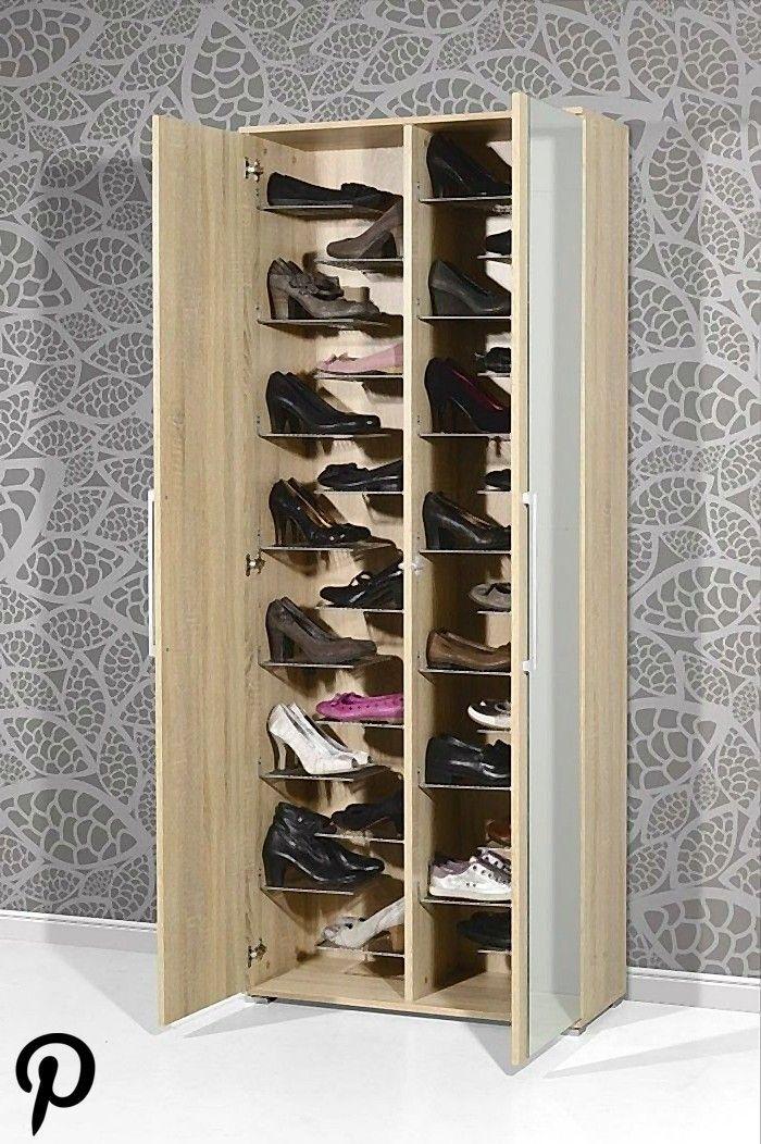 Schuhschrank Selber Bauen Eine Kreative Schuhaufbewahrung Schuhschrank Selb En 2020 Muebles Para Zapatos Muebles Para Guardar Zapatos Diseno De Despensa
