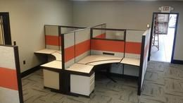 Lots Of Used Office Cubicles With Glass Used Office Furniture
