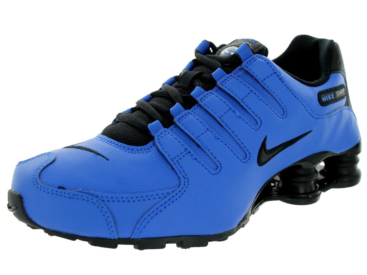 Nike Kids Shox NZ SI Plus (GS) Hyper Cobalt/Black/Mtllc Slvr