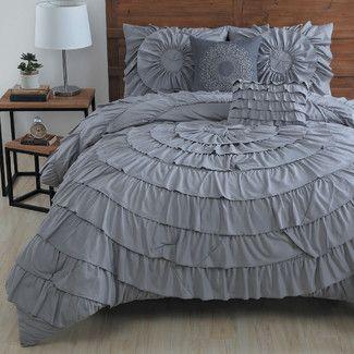 House of Hampton Rye 5 Piece Comforter Set