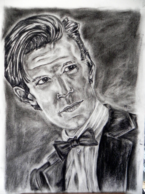 Articles similaires à dessin, portrait, dr who, 11 docteur ...