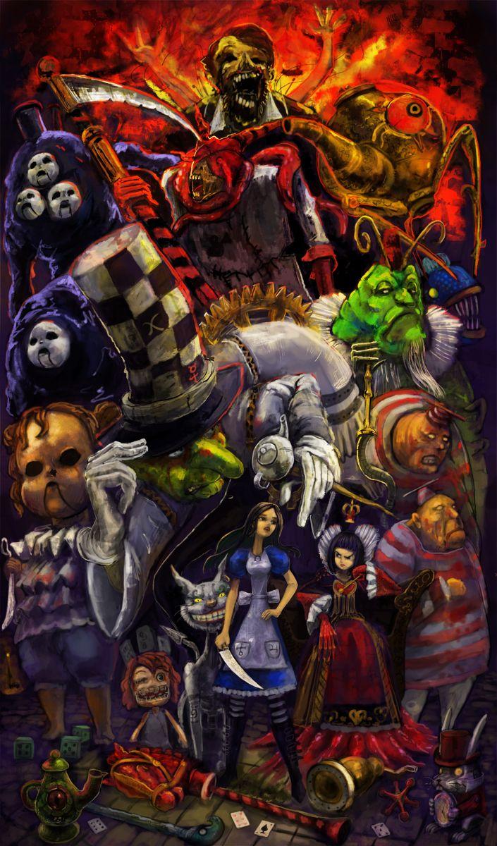 American Mcgee S Alice Madness Returns 1013909 Zerochan
