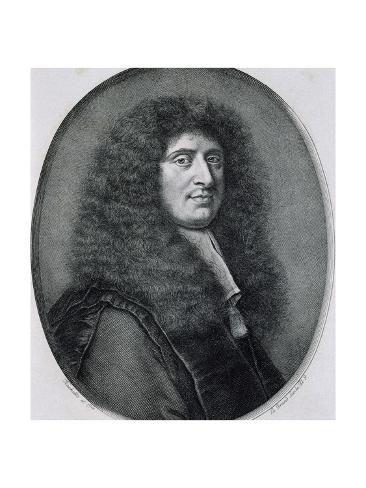 size: 24x18in Giclee Print: Portrait of Gabriel Nicolas De La Reynie :